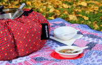 Wonderbag City Rouge picnic