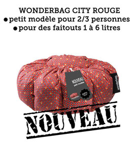 Wonderbag City Rouge - nouveau !