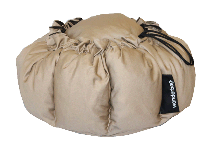 Wonderbag URBAN CHIC camel reversible chocolat